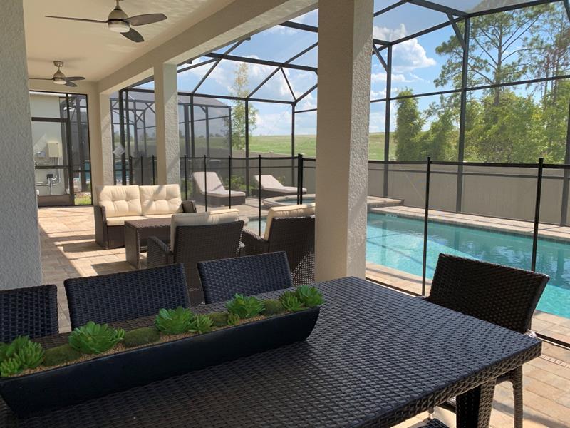 casas em orlando barbara borges design area externa piscina solara